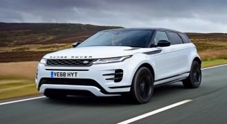 Quy trình sản xuất tự động dòng xe cao cấp Range Rover